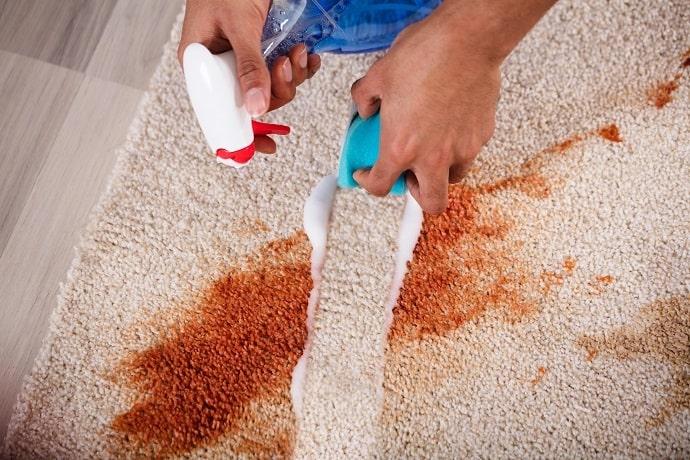 طريقة تنظيف الموكيت من البقع الصعبة