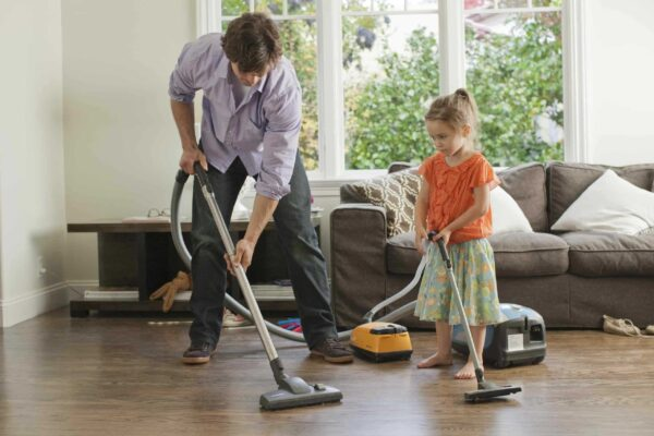 اساسيات تنظيف المنزل