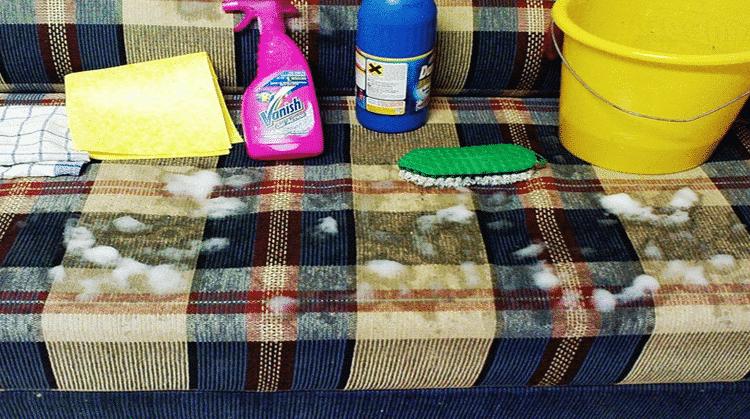 كيفية تنظيف الكنب